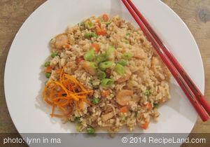 Chinese: Shrimp Fried Rice