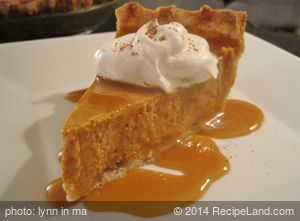 Famous Homemade Pumpkin Pie