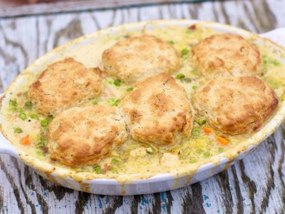 Dilled Chicken Pot Pie