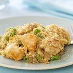 Low-fat Chicken Tetrazzini