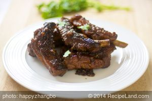 Sichuan Sticky Ribs