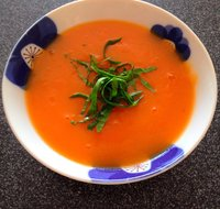 Ginger-Sweet Potato Soup