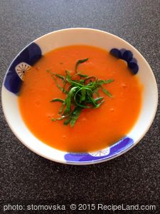 Ginger-Sweet Potato Soup