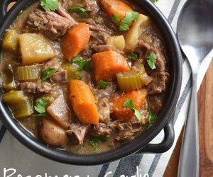 Crockpot Rosemary Garlic Beef Stew