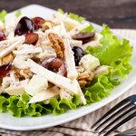 Walford salad with walnuts