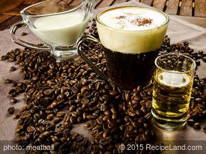 Vanilla Irish Coffee