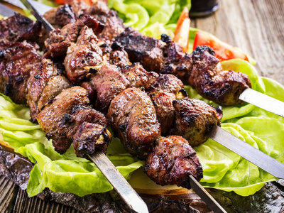 Garam Masala Lamb Kebabs