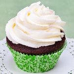 Yankee doodle filled cupcake