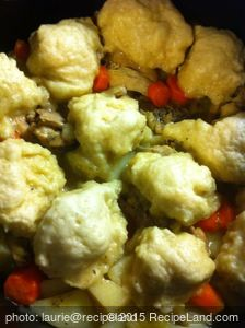 Chicken in a Pot with Dumplings