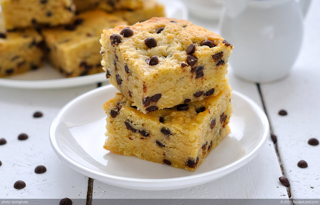 Beverly's Blond Brownies
