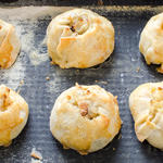 Knishes filled with potato onion