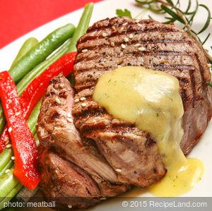 Grilled Herb Mustard Steaks