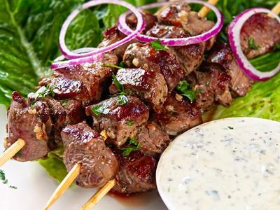 Jerry's Lamb Kebabs