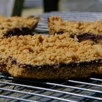 Awesome Whole Wheat Blueberry Bars