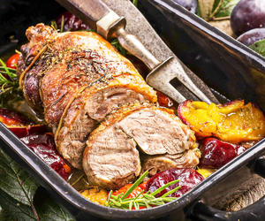 Lemon-Herb Lamb Roast