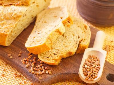 Buckwheat Applesauce Bread