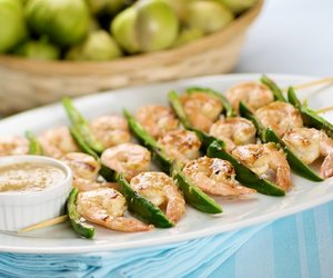 Spicy Tomatillo Shrimp