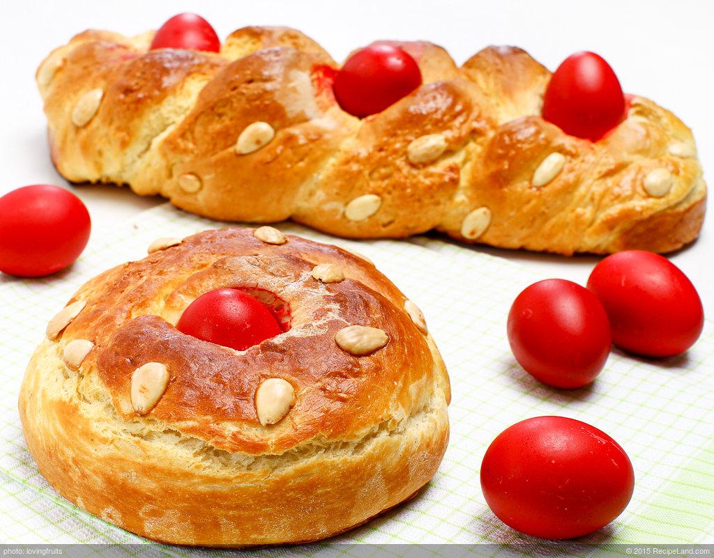 Greek Tsoureki (Easter Bread)