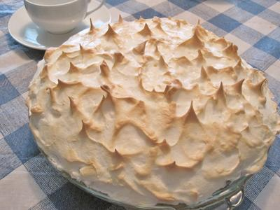 Lemon Party Meringue Pie