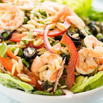 Cold Orzo Shrimp Salad