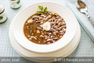 Congressional Bean Soup (Crockpot)