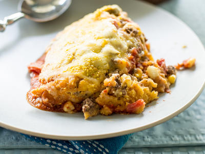 Cheesy California Tamale Pie