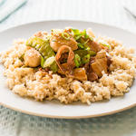 Shrimp (Chicken) and Sugar Snap Pea Stir Fry