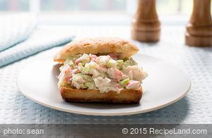 Deli Seafood Sandwich
