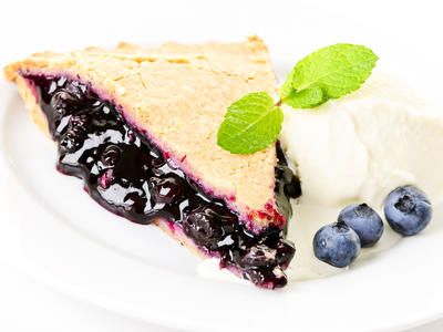 Sugar Free Blueberry Pie