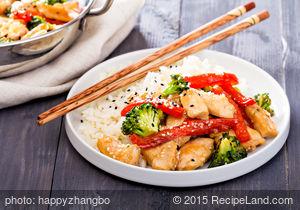 Chicken 'N' Vegetable Stir Fry