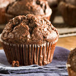 Choc--Double Chocolate Muffins