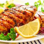 Grilled Chicken a L'Orange