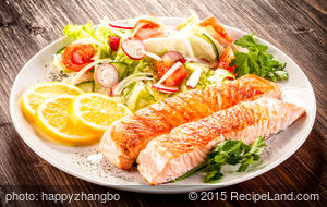 Favorite Grilled Salmon and Marinade