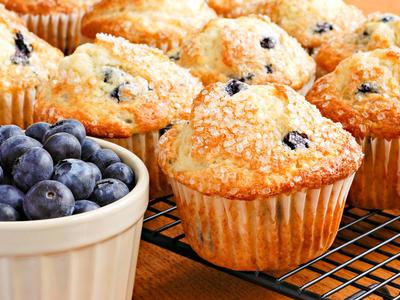 Bonnie's Blueberry Muffins