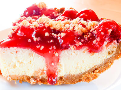 Mom's Easy Cherry Cheesecake