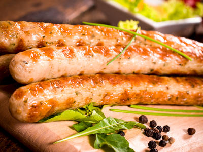Asian Chicken Peanut Sausage