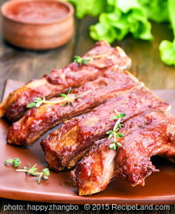 Barbecued Country Style Pork Ribs