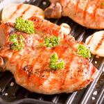 Barbecued Pork Steaks 2