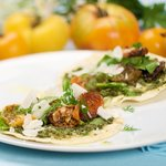Heirloom Tomato Taco