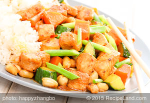 Sweet Justice Kung Pao Chicken
