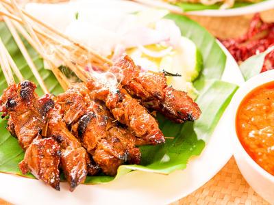 Satay Peanut Chicken