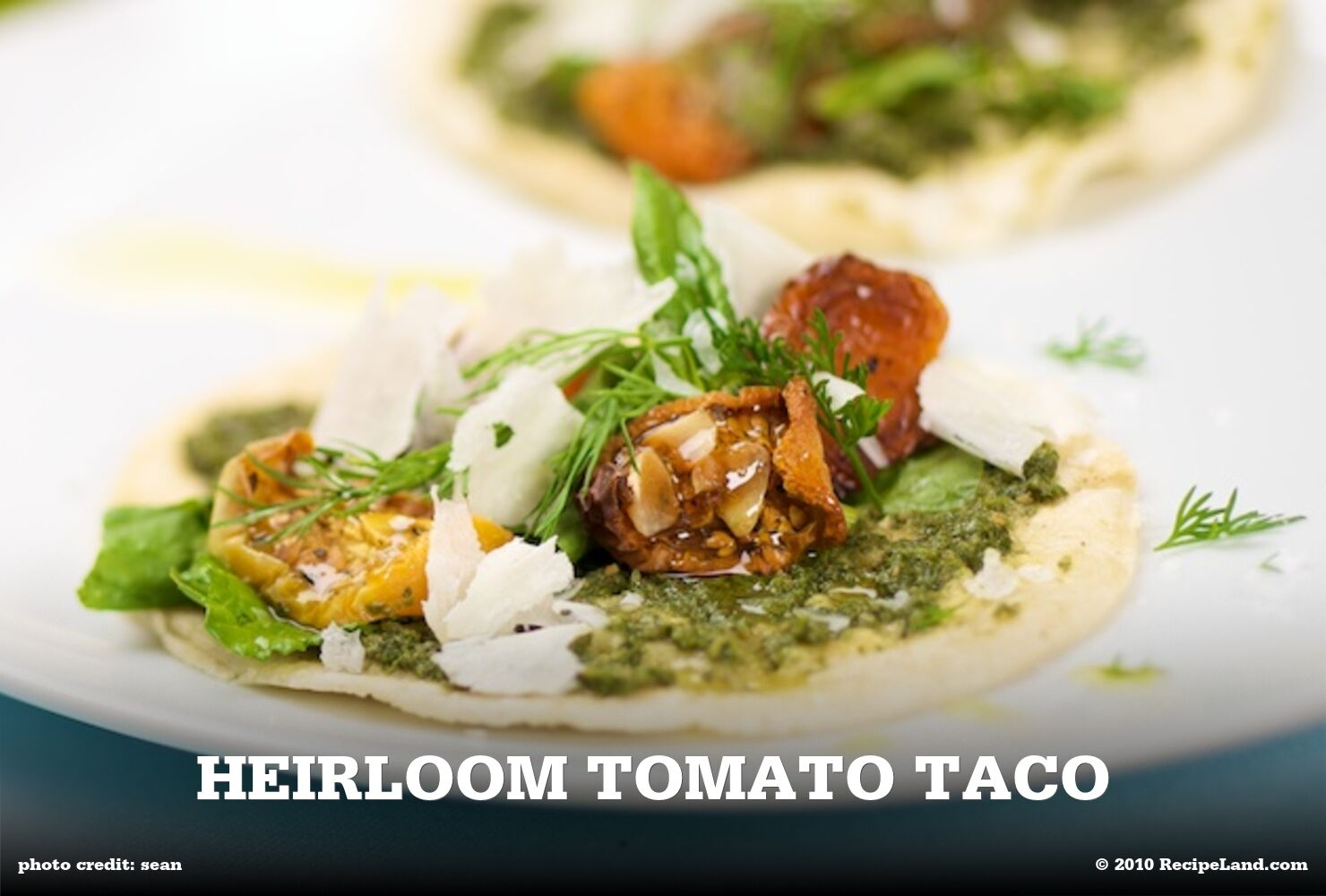 Heirloom Tomato Taco
