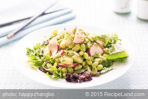 Avocado, Radish and Edamame Salad