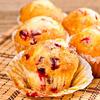 Fat-Free Cranberry Orange Muffins