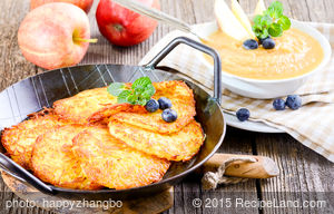Awesome Grated Potato Pancakes