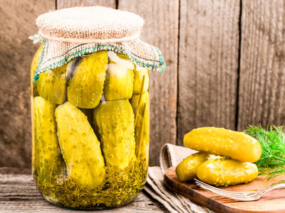 Grama's Dill Pickles