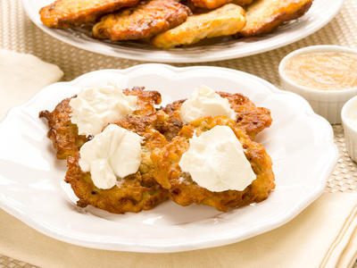 Lacy Potato Pancakes (Latkes)
