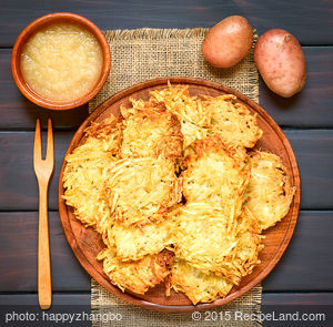Quick and Easy Potato Pancakes