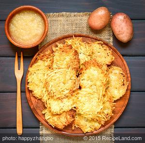 Quick and Easy Potato Pancakes