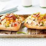 Crab n' Bacon Cheese Melt Sandwiches
